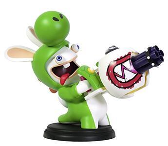 Mario Rabbid K.Battle Statua Yoshi 15cm - 4