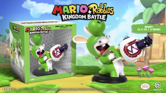 Mario Rabbid K.Battle Statua Yoshi 15cm - 6