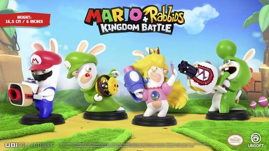 Mario Rabbid K.Battle Statua Yoshi 15cm - 7