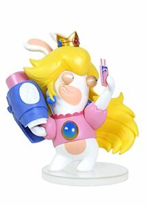 Mario Rabbid K.Battle Statua Peach 8cm - 4