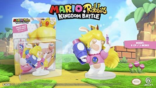 Mario Rabbid K.Battle Statua Peach 8cm - 5