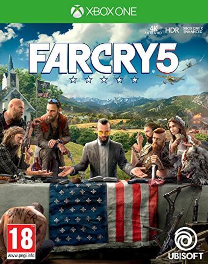 FAR CRY 5 XBOX ONE nv prix, 3307216022886