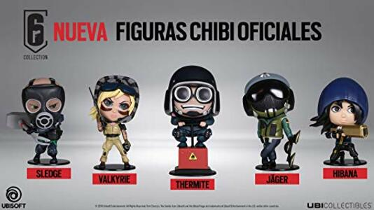 ubisoft six collection  Six Collection. Jager Chibi Figure - Ubisoft - Personaggi ...