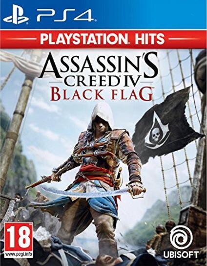 Assassin's Creed 4: Black Flag PlayStation Hits [Edizione: Francia]