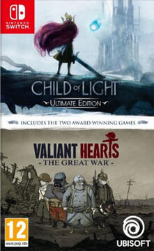 Compilat.Child of Light + Valiant Hearts - Switch