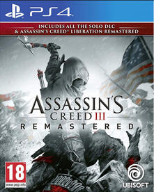 Ubisoft Assassin's Creed III Remastered, PS4 videogioco PlayStation 4