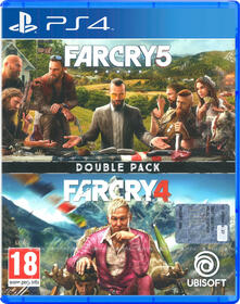 Ubisoft Double Pack: Far Cry 4 + Far Cry 5 videogioco PlayStation 4 Inglese, ITA