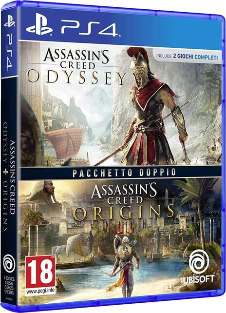 Assassin's Creed Origins + Odyssey PlayStation 4