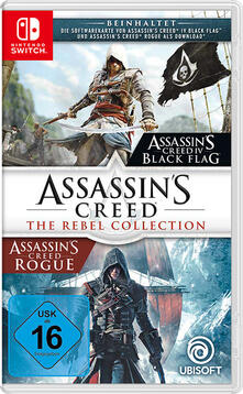 Ubisoft Assassin's Creed: The Rebel Collection, Switch videogioco Nintendo Switch Antologia