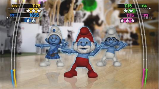Videogioco Puffi Dance Party Nintendo WII 2