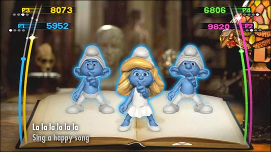 Videogioco Puffi Dance Party Nintendo WII 4