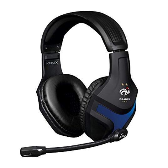 Konix Casque Gaming PS-400 FFF Compatible PS4, Xbox One, PC, Tablette, Smartphone Haute Qualité Audio Micro Casque Gamer Avec Microphone [Edizione: Francia]