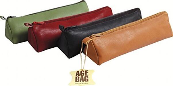 Astuccio Age Bag. Trapezio In Pelle