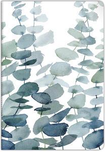 Cartoleria Taccuino spillato Quintessence 96 pagine 21 x 29, 7 cm a righe con margine 90 g, copertina plastificata con motivo casuale Clairefontaine