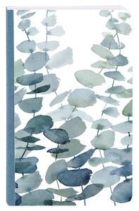 Cartoleria Taccuino tascabile con dorso in tela 144 pagine 9 x 14 cm a righe 90 g, copertina plastificata con motivo casuale Clairefontaine