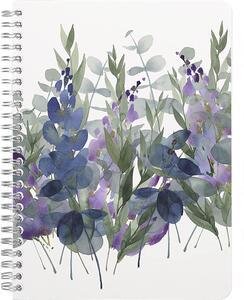 Cartoleria Taccuino a spirale Quintessence 148 pagine 14, 8 x 21 cm a righe 90 g, copertina plastificata con motivo casuale Clairefontaine
