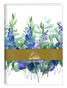 Cartoleria Libro degli ospiti Quintessence con copertina rigida 160 pagine senza rigatura14, 8 x 21 cm, con motivo casuale Clairefontaine