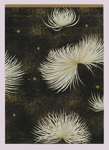 Cartoleria Kenzo, Taccuino rilegato A5 - 14, 8 x 21 cm, 70 F staccabili a righe, motivo casuale Clairefontaine