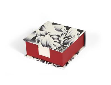 Cartoleria Kenzo, Blocco notes, 11 x 11 x 5 cm, 320 F, bianco. Clairefontaine