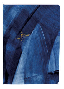 Cartoleria Indigo, Set 2 taccuini cuciti A6 - 10, 5 x 14, 8 cm, 32 F a righe, con nastro Clairefontaine