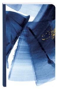 Cartoleria Indigo, Taccuino copertina morbida, 9 x 14 cm, dorso telato, 60 F a righe, motivo casuale Clairefontaine