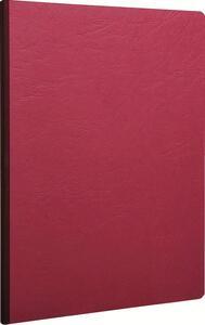 Quaderno Age Bag brossurato extra large a quadretti. Rosso ciliegia - 2
