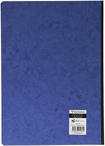 Quaderno Age Bag brossurato extra large a righe. Blu - 2