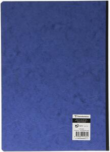 Quaderno Age Bag brossurato extra large a righe. Blu - 4