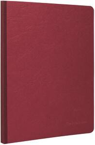 Quaderno Age Bag brossurato large a quadretti. Rosso