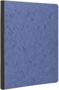 Quaderno Age Bag brossurato large a quadretti. Blu