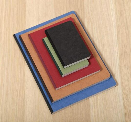 Quaderno Age Bag brossurato large a quadretti. Blu - 2