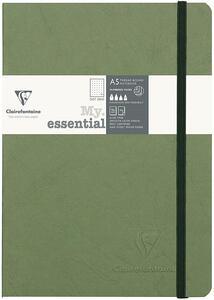 Taccuino Age Bag My Essential medium a pagine puntinate. Verde muschio
