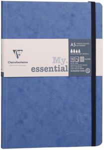 Taccuino Age Bag My Essential medium a righe. Blu