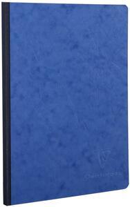 Quaderno Age Bag brossurato medium a quadretti. Blu