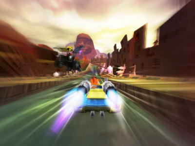 Crash Tag Team Racing - 5