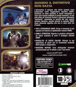 Videogioco SWAT 4 Best Seller Personal Computer 7