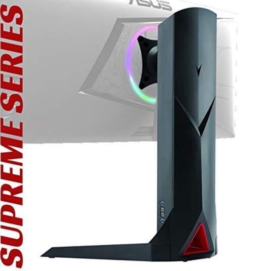 OPLITE SUPREME MONITOR STAND PLUS Supporto girevole universale per schermo da 17'' a 32'' con porte USB e audio integrate