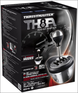 Informatica Thrustmaster TH8A Add-On Shifter PC,Playstation 3,PlayStation 4,Xbox One Nero, Metallico Thrustmaster 0