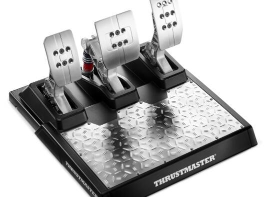 Thrustmaster T-LCM Pedali PC,PlayStation 4,Xbox One Nero, Acciaio inossidabile