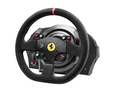 Informatica Volante Thrustmaster Volante T300 Ferrari Int.Rw Alcantar Thrustmaster 1