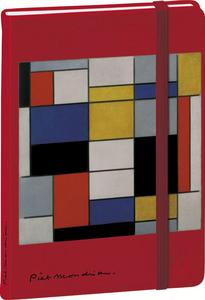 Cartoleria Taccuino 15 a righe Mondrian Quo Vadis 0