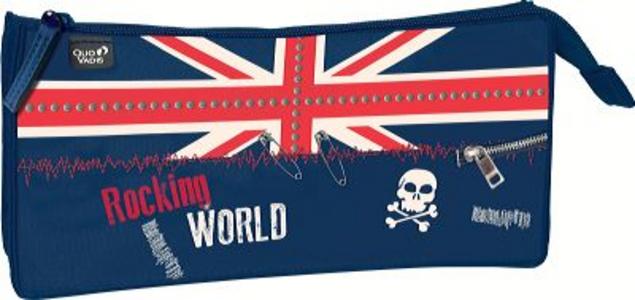 Cartoleria Astuccio Rettangolare Union Jack Quo Vadis