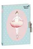 Cartoleria Diario segreto Ballerine Quo Vadis Quo Vadis
