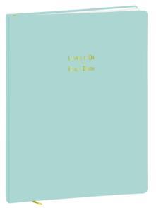 Taccuino Quo Vadis Livre Blu pastello a pagine bianche - 21x27