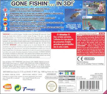 Videogioco Angler's Club: Ultimate Bass Fishing 3D Nintendo 3DS 6