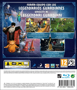 Videogioco Rise of the Guardians: The Video Game PlayStation3 5