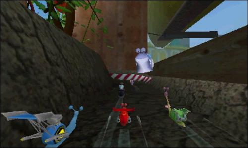 Videogioco Turbo: Acrobazie in pista Nintendo 3DS 5