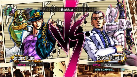 Jojo's Bizarre Adventure. All Star Battle - 2