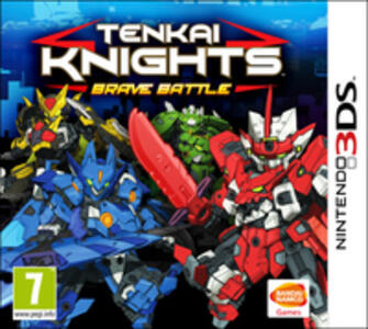 Tenkai Knights: Brave Battle - 3DS - 2