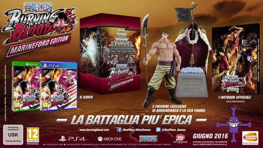 Videogioco One Piece: Burning Blood Marineford Edition (Collector) Xbox One 1